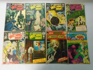 Silver DC Horror Lot, 23 Different, Average 4.0