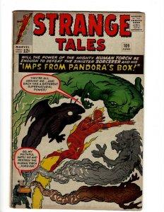 Strange Tales # 109 FN Marvel Comic Book Thing Dr. Strange Mordo Human Torch KD1