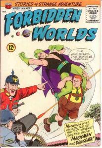 FORBIDDEN WORLDS 133 VG-F   Jan.-Feb. 1966 COMICS BOOK