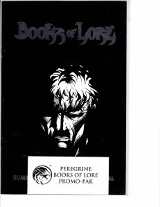 Books of Lore (1998) Peregrine Promo Pack w/ letter from publisher NM (9.4)