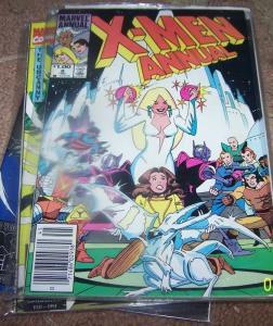UNCANNY X-MEN ANNUAL  #8 1984 MARVEL   KITTY + DRAGON =FAIRYTALE NEW MUTANTS