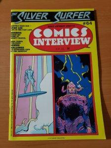David Anthony Kraft's Comics Interview #64 ~ VERY FINE - NEAR MINT NM ~ 1988