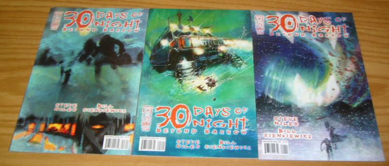 30 Days of Night: Beyond Barrow #1-3 VF/NM complete series BILL SIENKIEWICZ 2