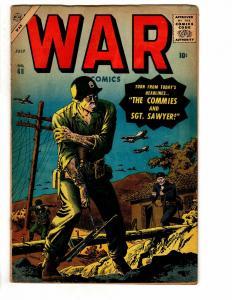 WAR  COMICS (1950-1957) 48 VG July 1957