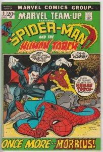 Marvel Team-Up #3 (Jul-72) VF/NM+ High-Grade Spider-Man