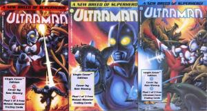 ULTRAMAN 1-3 Complete polybagged w/CARD version series!