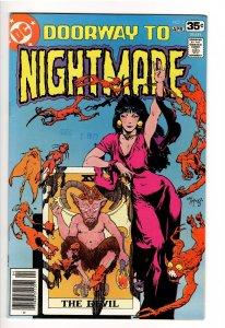 DOORWAY TO NIGHTMARE #2VF/NM 9.0;2nd APP MADAME XANADU;HBO MAX!;KALUTA cvr!!!!!!