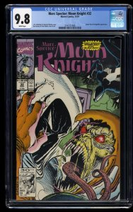 Marc Spector: Moon Knight #32 CGC NM/M 9.8 Spider-Man and Hobgoblin Appearance!