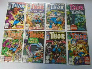 Thor comic lot 43 different from #401-450 8.5 VF+ (1989-92 1st Series)