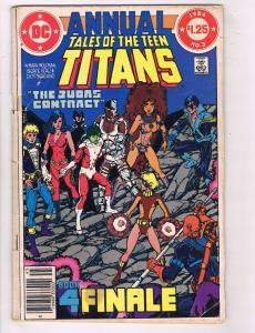 Teen Titans Annual # 3 VG DC Comic Book Robin Cyborg Raven Flash J74