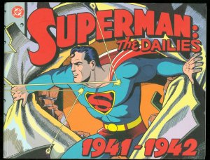 SUPERMAN: THE DAILIES 1941-1942 FIRST PRINTING DC FN