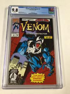 Venom Lethal Protector 2 Cgc 9.8 White Pages Marvel