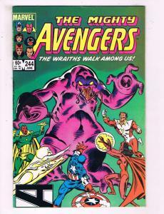 The Mighty Avengers #244 VF Marvel Comics Comic Book Captain America DE15