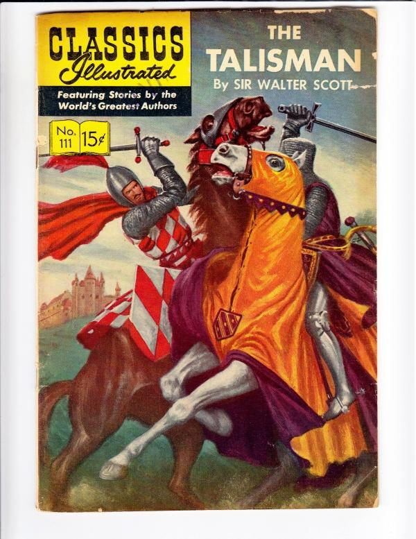 Classics Illustrated #111 (Sep-53) VG+ Affordable-Grade