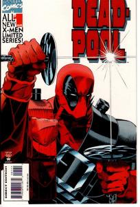 DEADPOOL LIMITED SERIES #1,2,3,4 NEAR MINT $25.00