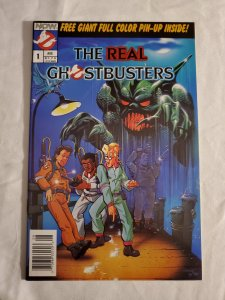 Real Ghostbusters 1 Very Fine/Near Mint  Cover by Andrew Pratt and Ken Steacy