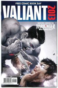 VALIANT COMICS #1, NM, Harbinger Wars, X-O, FCBD, 2013, more Valiant in store