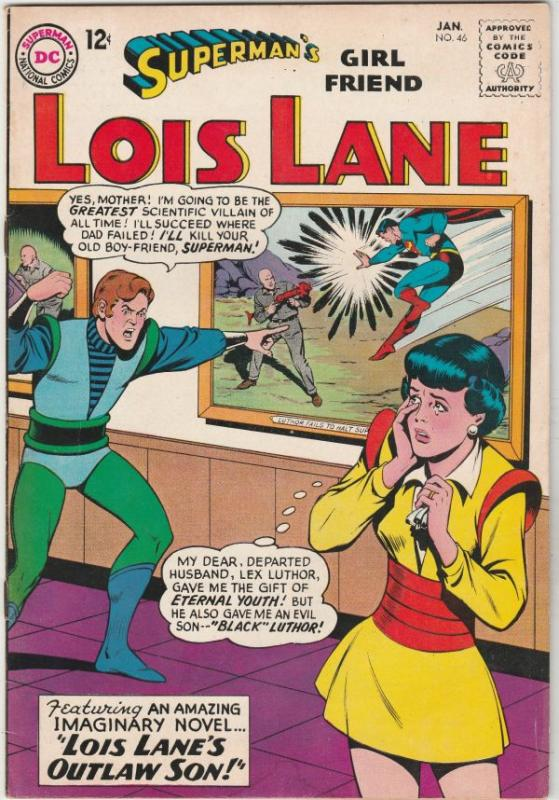 Superman's Girlfriend Lois Lane #46 (Jan-64) FN/VF+ High-Grade Superman, Lois...