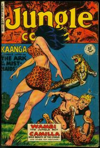 JUNGLE COMICS #123-SPICY COVER-FICTION HOUSE VG