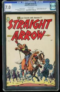 STRAIGHT ARROW #1-CGC 7.0-FIRST APPEARANCE-WESTERN-SOUTHERN STATES 1161203003