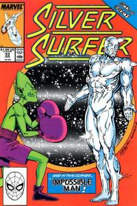Silver Surfer (1987 series) #33, VF+ (Stock photo)