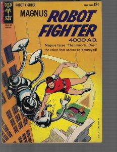 Magnus Robot Fighter #5 (Dell, 1964) VG/FN