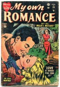 My Own Romance #29 1953- Atlas Romance- Jay Scott Pike G