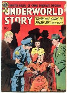 Underwold Story #1 1950- Avon Golden Age Crime G