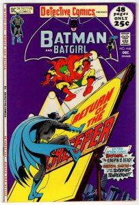 DETECTIVE COMICS #418 (VF/NM) The Return of The Creeper!