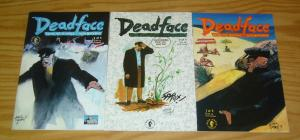 Deadface: Doing The Islands With Bacchus #1-3 VF/NM complete set EDDIE CAMPBELL