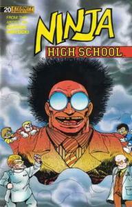 Ninja High School #20 VF/NM; Malibu | save on shipping - details inside
