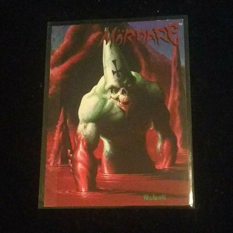 Wizard Creator's Portfolio Promo Card #2 Nelson's Mordare Nelson Decastro