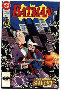Batman #475 comic book 1992 DC First appearance of RENEE MONTOYA
