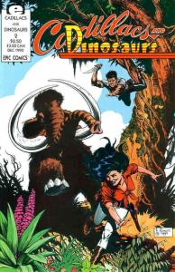 Cadillacs And Dinosaurs #2 VF/NM; Epic | save on shipping - details inside