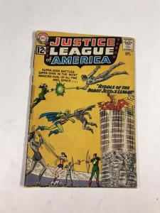 Justice League Of America 13 3.0 Gd/vg Good / Very Good Dc Silver Age