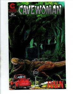 Cavewoman Rain #2 - 1st Print - Budd Root - Caliber - (-NM)