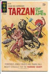 Tarzan #205 1971-Gold Key-Edgar Rice Burroughs-Norris-Royer-Brothers of Spear...