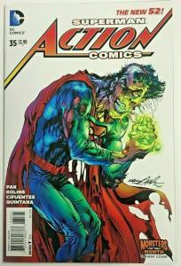 ACTION COMICS#35 NM 2014 NEAL ADAMS COVER DC COMICS THE NEW!