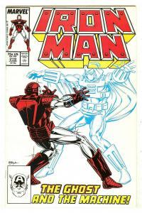 Iron Man 219   1st Ghost