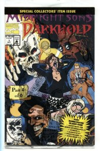Darkhold #1 1992 1st Darkhold Redeemers appearance comic book