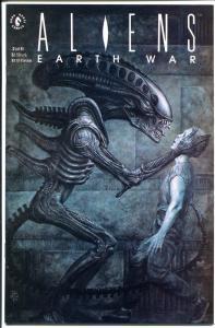 ALIENS EARTH WAR #2, NM+, Sam Kieth, John Bolton, 1st, more Horror  in store