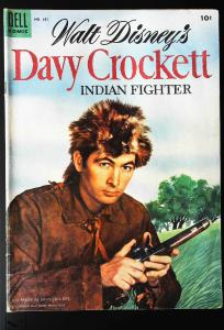 Davy Crockett (May 1955 series) #1, VG+ (Actual scan)