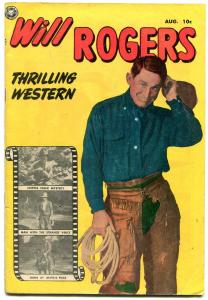 Will Rogers #2  1950- Fox Golden Age Western- Photo cover FN-