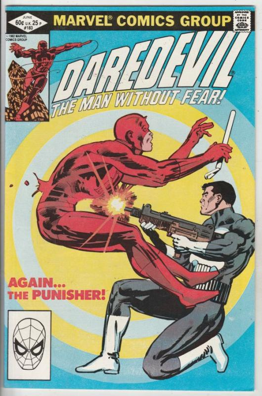 Daredevil #183 (Jun-82) NM- High-Grade Daredevil