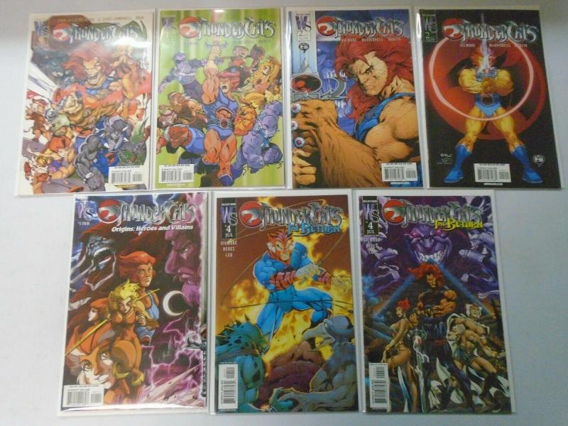 Thundercats Lot 7 different issues 8.0 VF