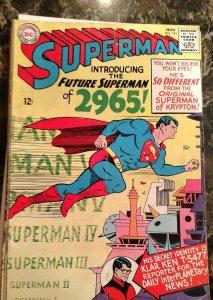 Superman #181 (DC, 1965) Condition: FN