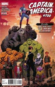 Captain America #700 (Marvel, 2018) NM