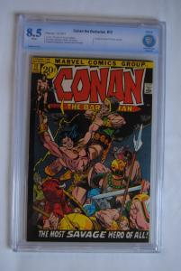 Conan the Barbarian, 12,  8.5