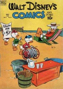 Walt Disney's Comics and Stories #106 GD; Dell   low grade comic - save on shipp