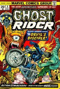 Ghost Rider (1973 series) #8, Fine+ (Stock photo)